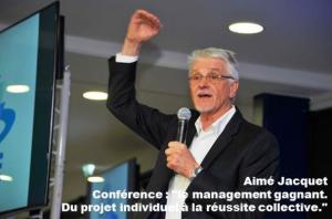Aimé Jacquet séminaire entreprise